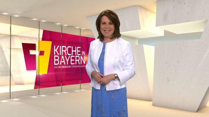 """Britta Hundesrügge moderiert das ökumenische Fernsehmagazin """"Kirche in Bayern"""" am Sonntag, 22. März."""