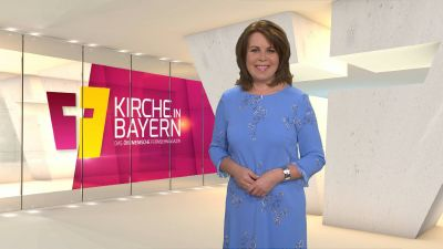 "Britta Hundesrügge moderiert ""Kirche in Bayern"" am Sonntag, 29. März."