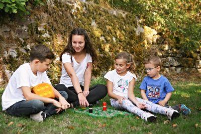 Eine Kinderfreizeit im Rahmen des Freiwilligen Sozialen Jahrs (FSJ) an der Jugendbildungsstätte Volkersberg.