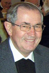 Pfarrer i. R Richard Baunach.
