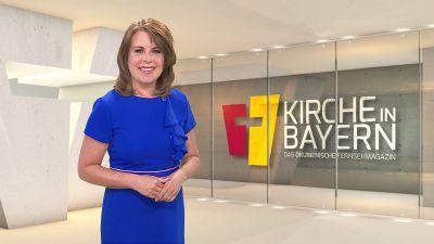 """Britta Hundesrügge moderiert """"Kirche in Bayern"""" am 17. Mai."""