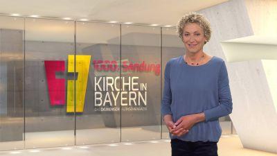 """Bernadette Schrama moderiert """"Kirche in Bayern"""" am Sonntag, 24. Mai."""