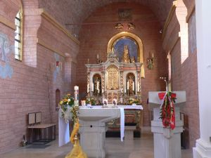 Lohnenswerte Ziele für Einzelpilger gibt es im Bistum Würzburg zuhauf, zum Beispiel die Loretokapelle in Effeldorf.
