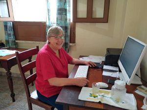 Cornelia Warsitz ist seit Dezember 2019 im Partnerbistum Óbidos. Derzeit arbeitet sie von ihrem Zimmer aus an Nothilfeprojekten.