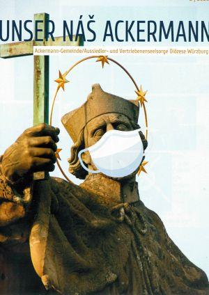 """Der neue Rundbrief """"Rundbrief """"Unser nàš Ackermann"""", Ausgabe 2020, der Ackermann-Gemeinde ist erschienen."""