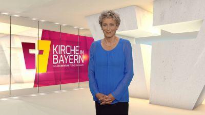 """Bernadette Schrama moderiert das ökumenische Fernsehmagazin """"Kirche in Bayern"""" am Sonntag, 5. Juli."""