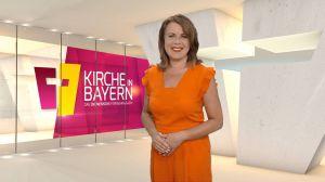 "Britta Hundesrügge morderiert ""Kirche in Bayern"" am Sonntag, 12. Juli."