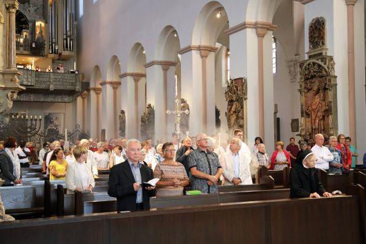 Mit einem feierlichen Pontifikalgottesdienst im Würzburger Kiliansdom ist am Sonntag, 12. Juli, die Kiliani-Wallfahrtswoche zu Ende gegangen.