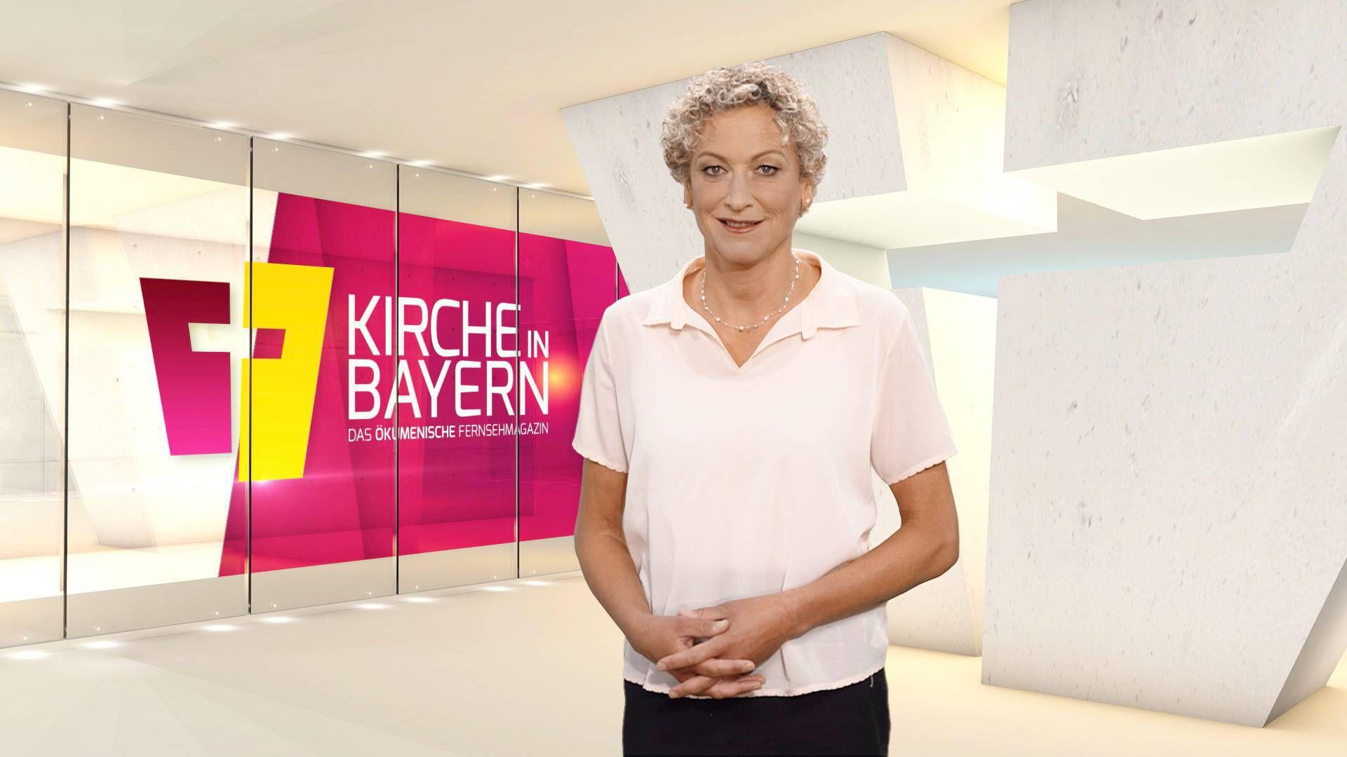 """Bernadette Schrama moderiert """"Kirche in Bayern"""" am Sonntag, 26. Juli."""