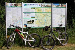 Der Mainradweg ist – bis auf wenige Ausnahmen – angemessen ausgeschildert und, wie im Radwanderführer beschrieben, gut und problemlos zu befahren.