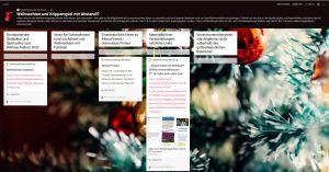 """Auf dem Familienportal der Diözese Würzburg unter www.familie.bistum-wuerzburg.de können sich alle beteiligen, die sich in der kommenden Zeit Gedanken machen zum Weihnachtsfest, zu Weihnachtsgottesdiensten mit Familien und generationenübergreifenden Angeboten in den coronabedingt besonderen Zeiten 2020. """""""