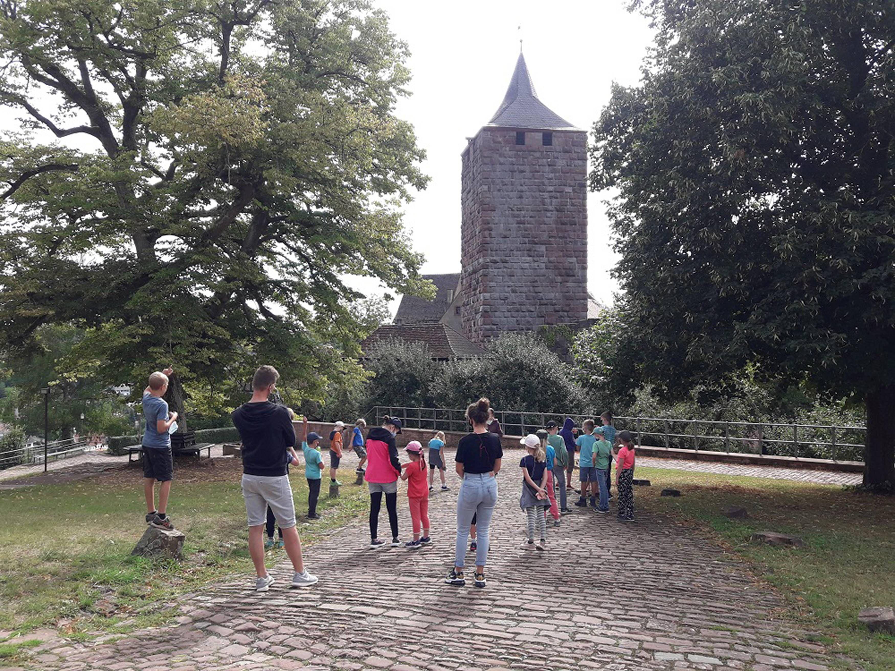 Abwechslungsreiche Ferientage gab es für Kinder auf Burg Rothenfels zu erleben.
