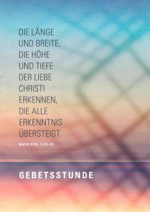 Eine Gebetsstunde zum Jahresmotto 2020 des Bistums Würzburg ist in einer Broschüre enthalten, die vom Referat Geistliches Leben veröffentlicht worden ist.