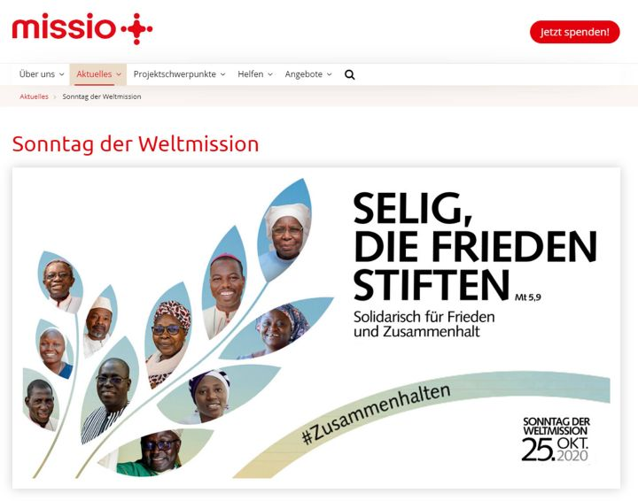Informationen und Materialien zum Monat der Weltmission gibt es auf der Website www.weltmissionsmonat.de