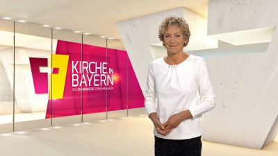 """Bernadette Schrama moderiert """"Kirche in Bayern"""" am Sonntag, 11. Oktober."""