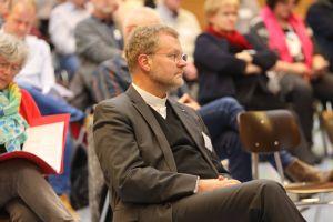 Vor wenigen Wochen als Generalvikar eingeführt, nahm Domdekan Dr. Jürgen Vorndran erstmals an einer Vollversammlung des Diözesanrats teil.