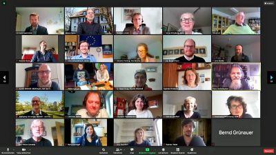 Das jährliche Netzwerktreffen der kirchlichen Klimaschutzverantwortlichen fand diesmal virtuell statt.