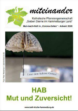 """Der Pfarrbriefersatz der Pfarreiengemeinschaft """"Sieben Sterne im Hammelburger Land"""" gibt Mut in der Corona Zeit."""