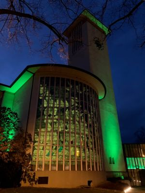 "Die Schweinfurter Jugendkirche ""kross""."