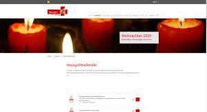 Material und Anregungen zur liturgischen Gestaltung von Advent und Weihnachten bietet diese Internetseite des Bistums Würzburg zum Download an.