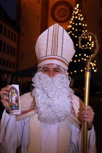 Die Kontaktbeschränkungen gelten in diesem Jahr auch für den heiligen Nikolaus.