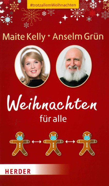 Tipps für die Gestaltung von Weihnachten in Coronazeiten geben Benediktinerpater Dr. Anselm Grün und Musikerin Maite Kelly in einem gemeinsamen Buch.