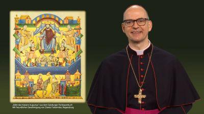 """In seiner Videobotschaft zu Weihnachten nimmt Bischof Dr. Franz Jung die Listen zur Nachverfolgung des Coronavirus zum Anlass, um über Gottes """"Liste des Lebens"""" nachzudenken."""