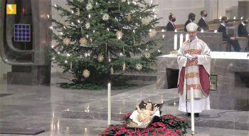Die Christmette am 24. Dezember wurde live auf TV Mainfranken sowie im Internet übertragen.