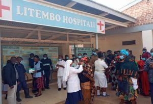 Der Ausbruch von Covid-19 in Tansania stellte das Krankenhaus vor große Herausforderungen.