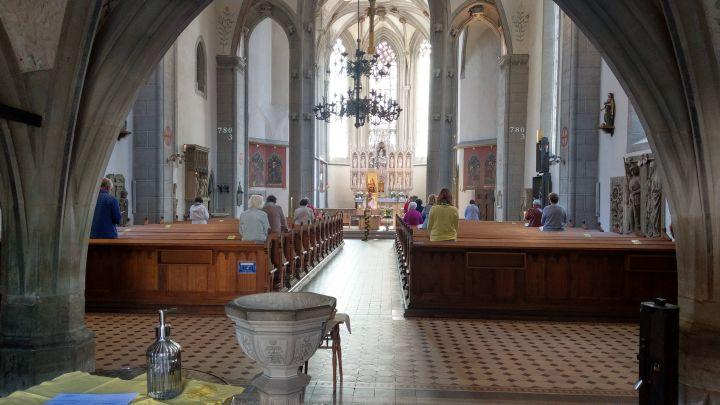 Gottesdienst in Coronazeiten (Symbolfoto)