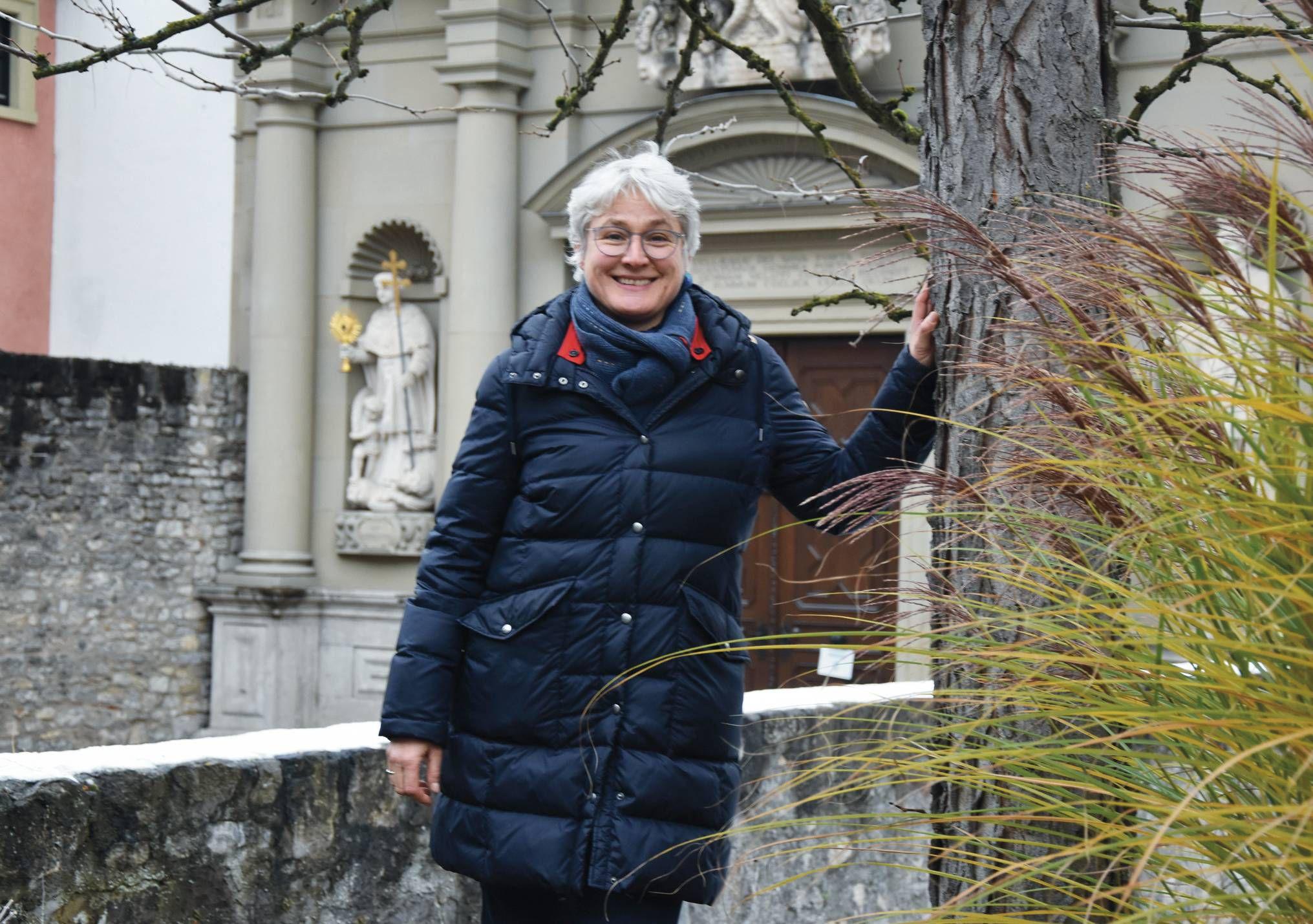 Schwester Katharina Ganz engagiert sich für eine zukunftsfähige Kirche, in der Frauen gleichberechtigt mitwirken.