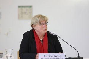 Dorothea Weitz, Vorsitzende der Mitarbeitervertretung (MAV) des Bistums Würzburg.