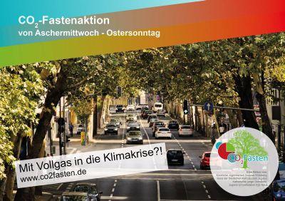 Die CO2 Fastenaktion gibt dieses Jahr Informationen und Aufgaben rund um Mobilität.