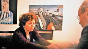 Shoshana Trister, Überlebende des Holocaust, sprach bei einer Onlineveranstaltung über die Pogrome, die sie als Kind erlebte.