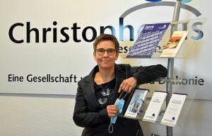 Nadia Fiedler ist seit drei Monaten Geschäftsführerin der ökumenischen Christophorus-Gesellschaft.