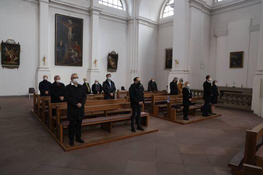 Bischof Dr. Franz Jung feierte am Sonntag, 14. März, in der Würzburger Pfarrkirche Stift Haug einen Pontifikalgottesdienst zur Einweihung des umgebauten und sanierten Matthias-Ehrenfried-Hauses.