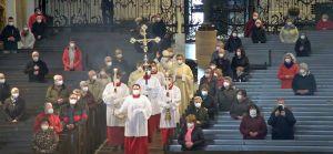 Bischof Dr. Franz Jung feierte anlässlich des Josefstags einen Pontifikalgottesdienst im Kiliansdom.