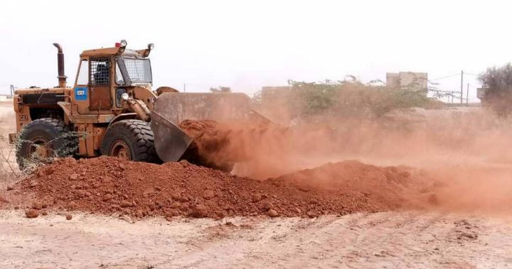 Die Bauarbeiten für das Rindermastprojekt in der KLB-Partnerdiözese Kaolack im Senegal haben bereits begonnen.