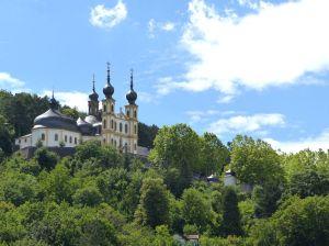 Eines der Wahrzeichen Würzburgs: das Käppele.