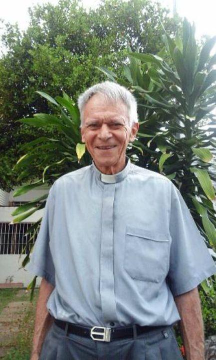 Ludwig Böll, ehemaliger Generalvikar der Diözese Ciudad Guayana in Venezuela und Pfarrer von El Palmar im Bundesstaat Bolivar.
