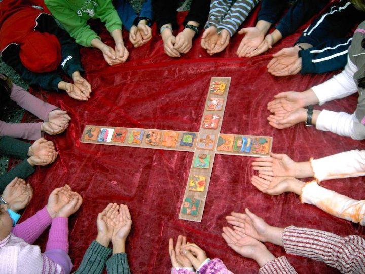 Das Projekt Schulkreuz der Mittelschule Aschaffenburg.