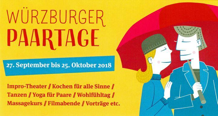"""Das Programmheft der ersten """"Würzburger Paartage""""."""