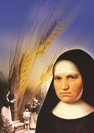 Mutter Alfons Maria Eppinger (1814-1867), Ordensgründerin der Kongregation der Schwestern des Erlösers, wird am 9. September 2018 in Straßburg (Frankreich) seliggesprochen. Die Abbildung zeigt Eppinger mit Kindern.